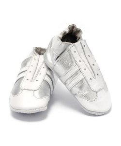babyslofjes jogger zilver