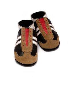 babyslofjes jogger bruin