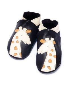 babyslofjes giraffe bruin