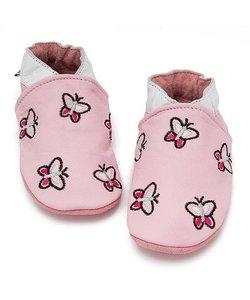 babyslofje roze vlinder