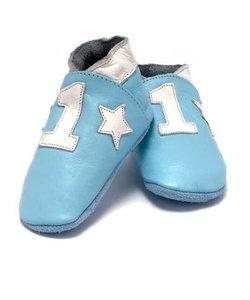 babyslofjes Nr 1 lichtblauw