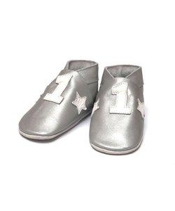 babyslofjes Nr 1 zilver
