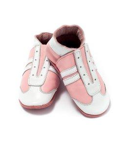 babyslofjes jogger roze wit