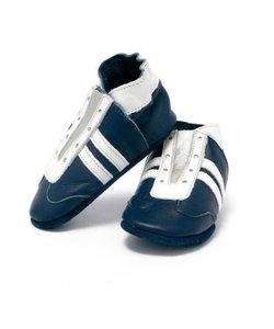 babyslofjes jogger blauw