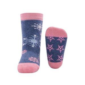 Ewers anti-slip sokken Sneeuwsterren Blauw