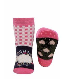 anti-slip sokken Stoppi Schapen blauw
