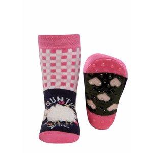Ewers anti-slip sokken Stoppi Schapen blauw