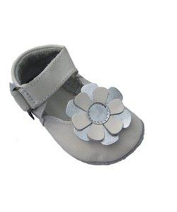 babyslofjes Kylie wit zilver