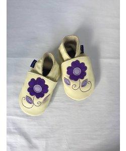 Babyslofjes paarse Bloem