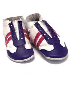 babyslofjes jogger paars