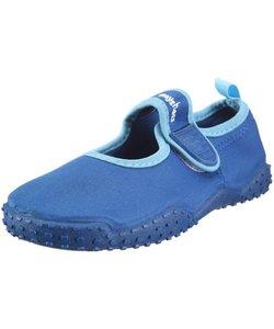 waterschoenen open blauw