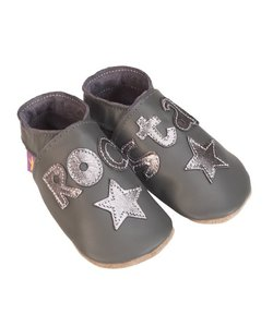 babyslofjes rock star grey metal