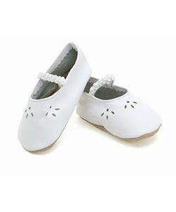 babyslofjes lacey white
