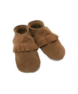 babyslofjes Ciao moccasin bruin