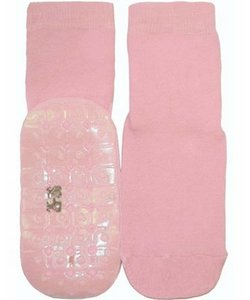 anti-slip sokken Stoppi uni roze