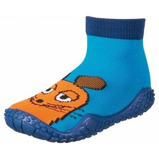 zwemsokken muis aquablauw