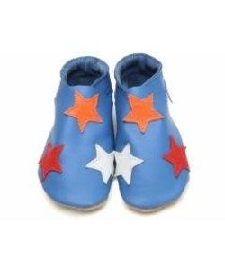 babyslofjes stars blue colours
