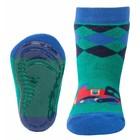 Ewers anti-slip sokken Stoppi groen locomotief