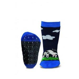 Ewers anti-slip sokken Stoppi koe marine