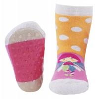 Ewers anti-slip sokken Stoppi fee roze geel
