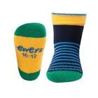 Ewers anti-slip sokken krabbelfix streepjes marine