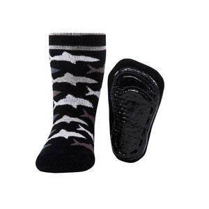 Ewers anti-slip sokken Stoppi softstep haaien zwart