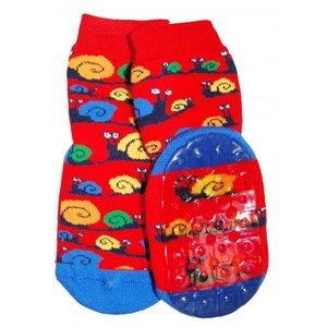 Ewers anti-slip sokken Stoppi slak rood