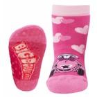 Ewers anti-slip sokken Stoppi Bobbycar Leonie fuchsia