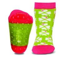Ewers anti-slip sokken Stoppi klavertje vier groen