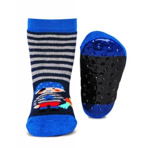 Ewers anti-slip sokken Stoppi marine piraat