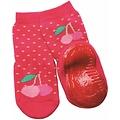 Ewers anti-slip sokken Stoppi softsteps fuchsia kers