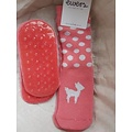 Ewers anti-slip sokken Stoppi hertje roze