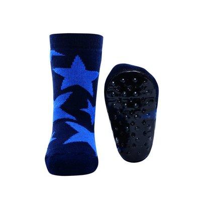 Ewers anti-slip sokken Stoppi sterren groot marine