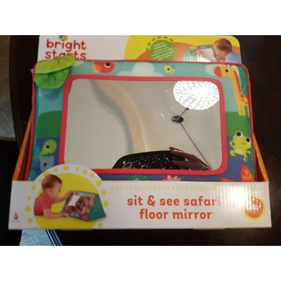 bright Bright Starts Sit & See Safari Floor Mirror Speel Spiegel