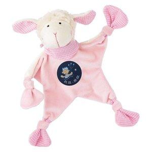 Sigikid knuffeldoek sterrenbeeld Waterman roze