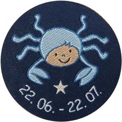 Sigikid knuffeldoek sterrenbeeld Kreeft blauw