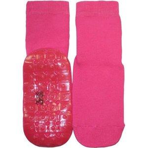 Ewers anti-slip sokken Stoppi uni fuchsia