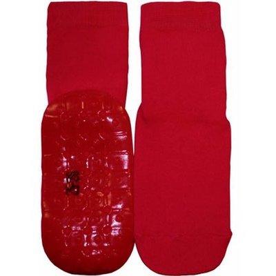 Ewers anti-slip sokken Stoppi uni rood