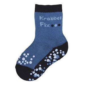 Ewers anti-slip sokken krabbelfix marine