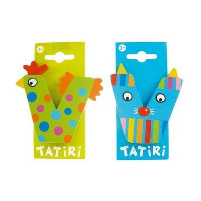 Tatiri houten letter V