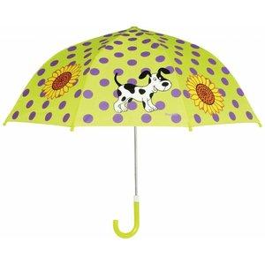 Playshoes paraplu limegroen hond