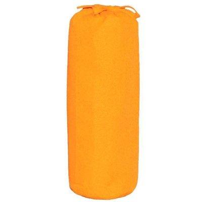Taftan hoeslaken uni oranje
