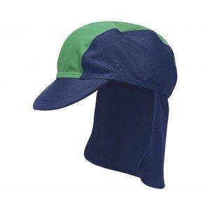 Playshoes zwemcap piraat blauw groen