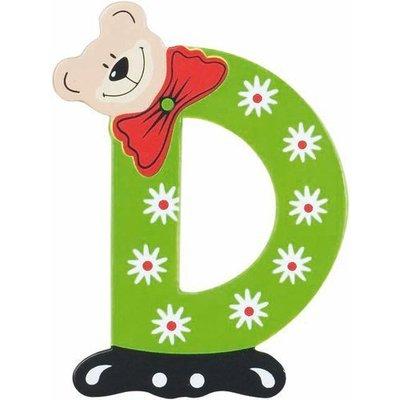 Playshoes houten letter D