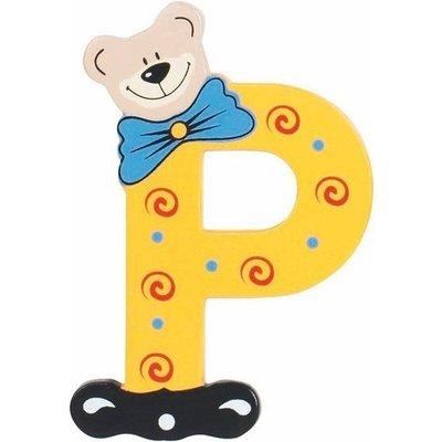 Playshoes houten letter P