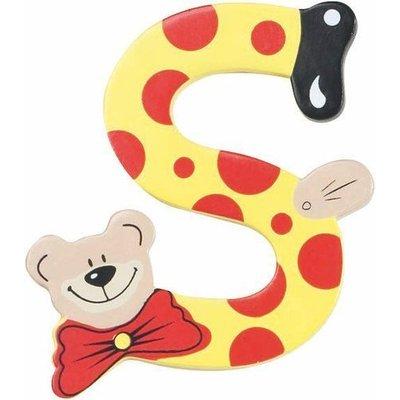 Playshoes houten letter S