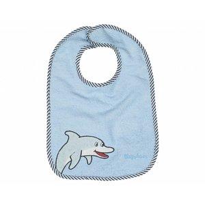 Playshoes slab lichtblauw dolfijn