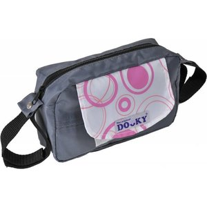Dooky Travel Buddy Pink Circles