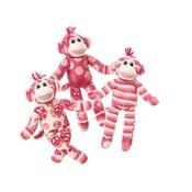 Print Pizzazz knuffel Lovely Little Sock Monkey