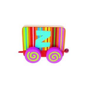 Tatiri houten treinletter Z